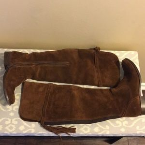 Frye over the knee boot